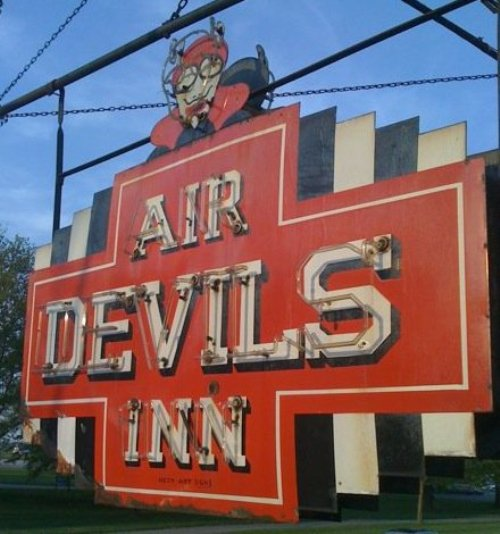 8. Air Devils Inn