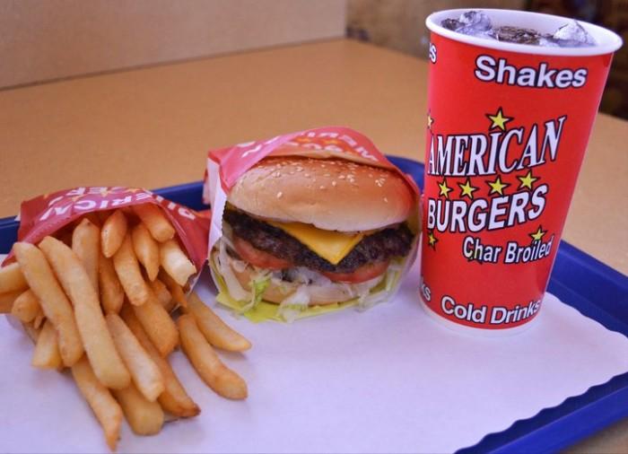 1) American Burger, Tooele and Grantsville
