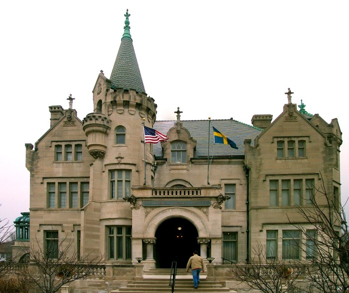 3. The Turnblad Mansion, now part of the American Swedish Institute is awe-inspiring both inside and out. Head to one of their many cultural events.