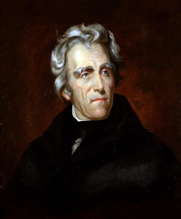 9) Andrew Jackson