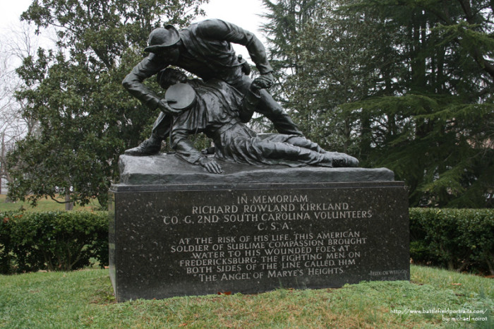 13. The Monument to the Angel of Marye's Heights, Fredericksburg