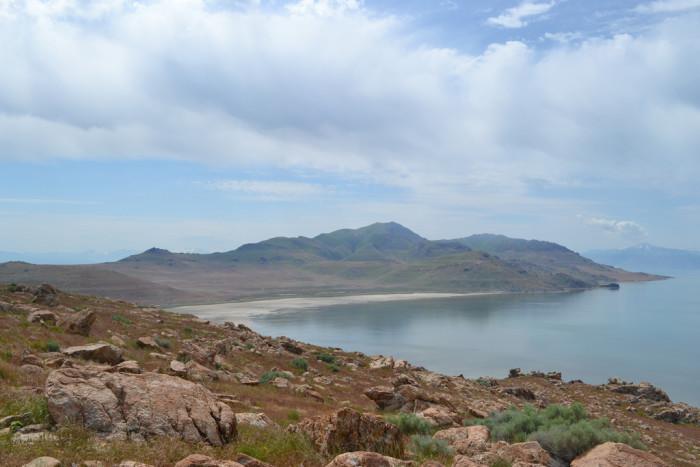 2) Mountain Bike on Antelope Island