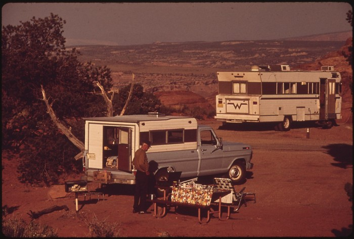 13) Camping at Utah's National Parks in the Winnebago