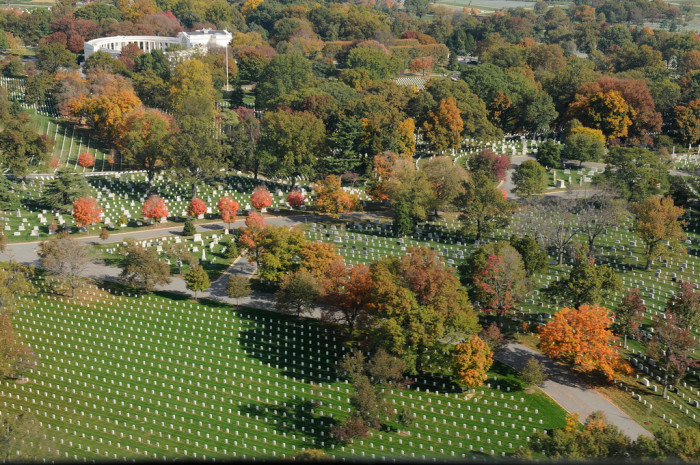 3. Aerial Views Over Arlington Cemetery