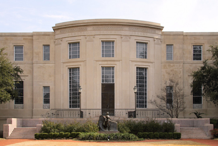 10) Armstrong-Browning Library at Baylor University (Waco)