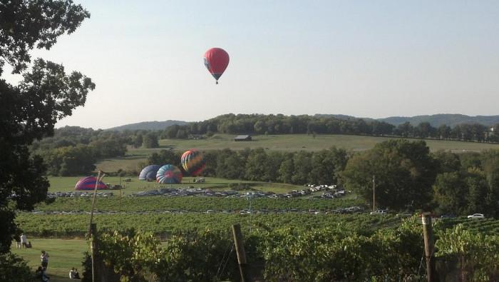 1) Arrington Vineyards - Arrington