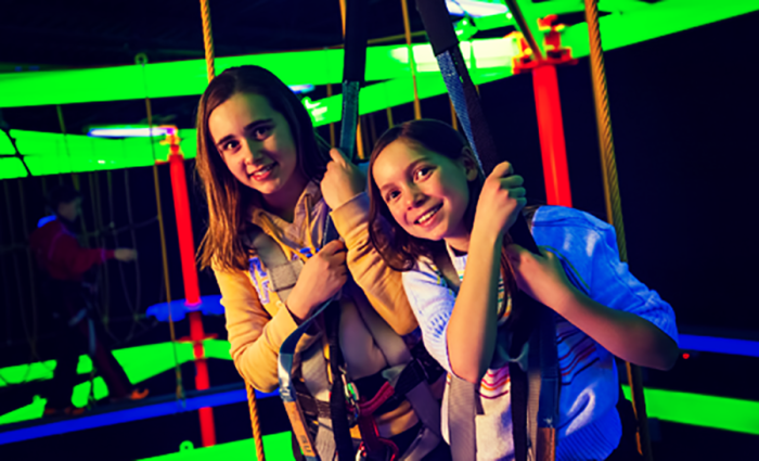 6. If you're in the Twin Cities, try Big Thrill Factory in Minnetonka for unforgettable activities like bowling, later tag, a BLACK LIGHT ROPES COURSE, bump 'n' spin cars, slides, climbing walls and so much more.