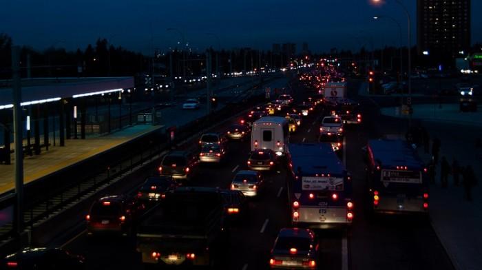 10) Traffic is terrifyingly horrible