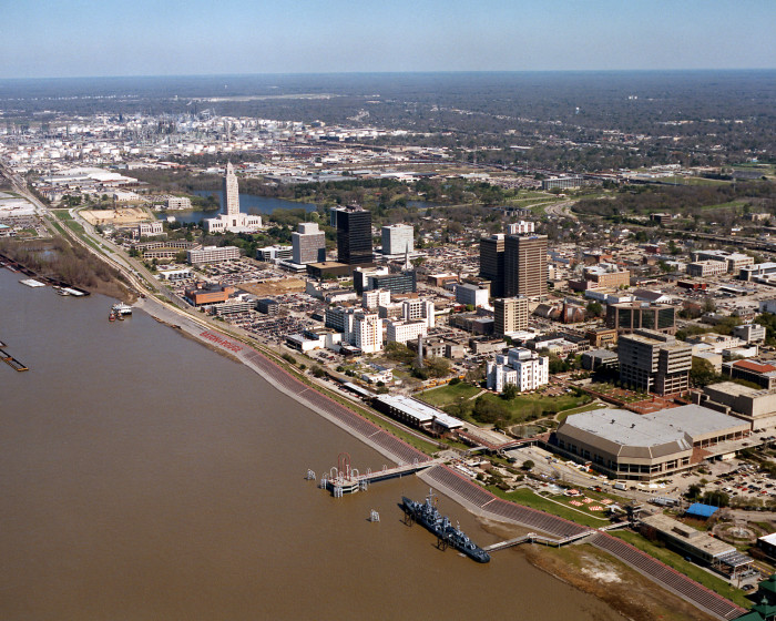 2) Baton Rouge