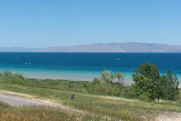4) Scuba Dive at Bear Lake