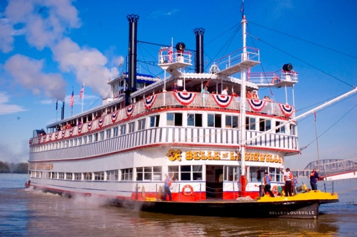 9. Rode a Steamboat