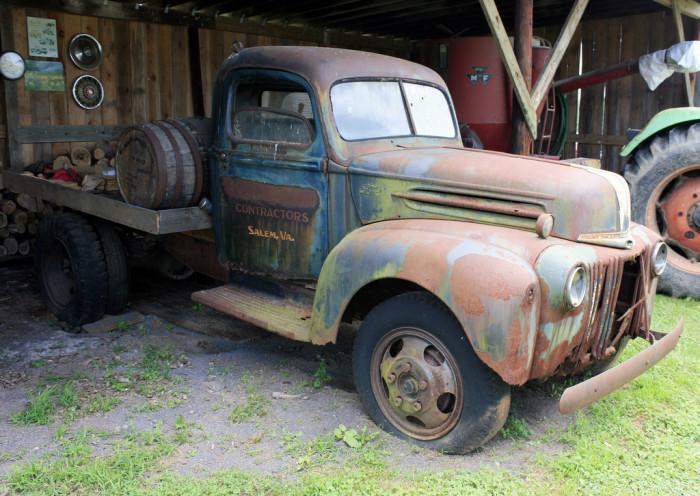 3. Farm Truck at Belmont Farms Moonshine Distillery, Culpeper