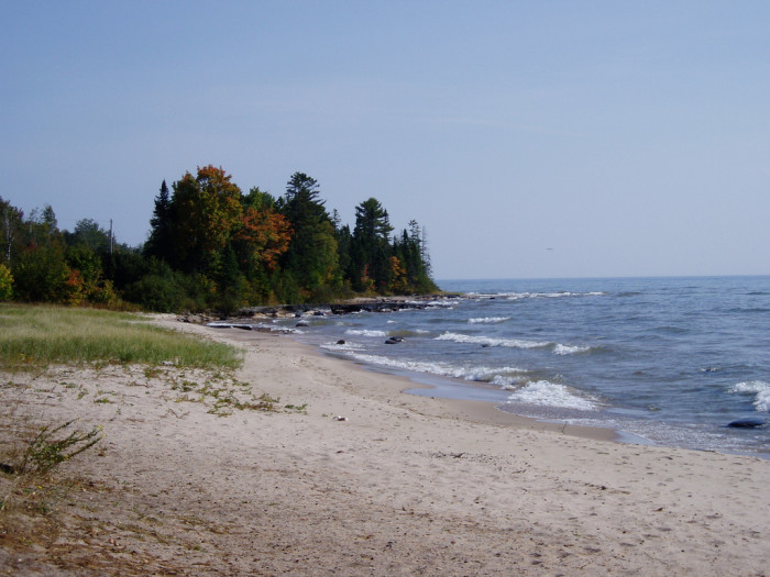 4) Bete Grise Beach