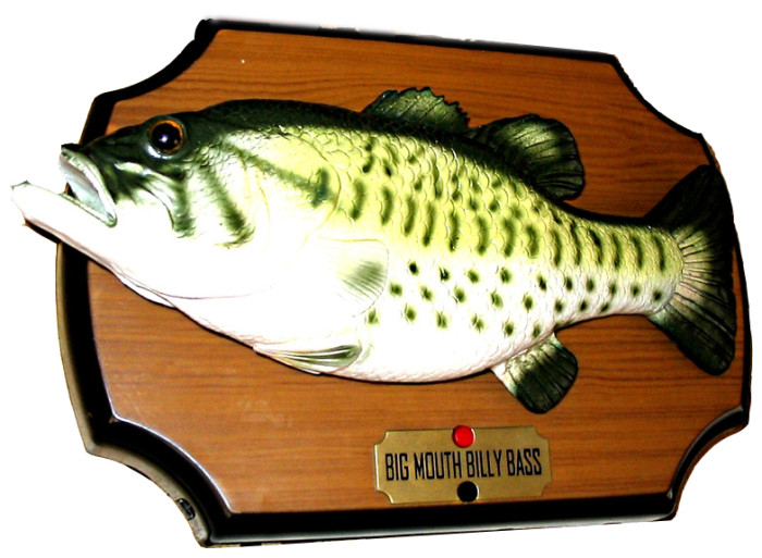 10 weirdest things that happened inminnesota for Big mouth billy bass singing fish