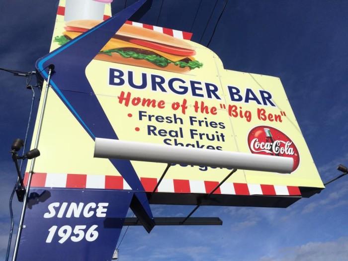 2) Burger Bar, Roy