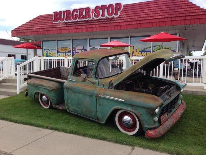 1) Burger Stop, Layton