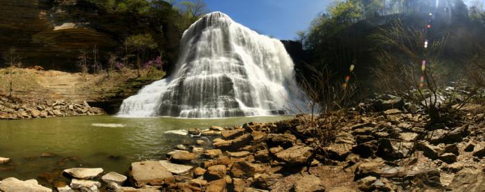 4) Burgess Falls - Sparta