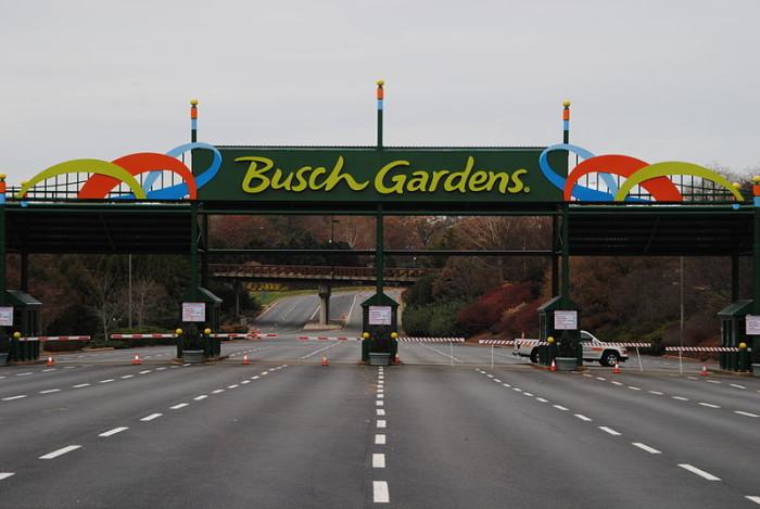 4) Busch Gardens