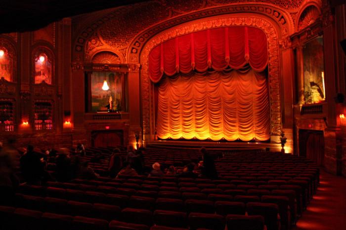 Byrd Theater inside