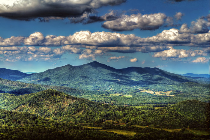 10. Cahas Mountain, Franklin County