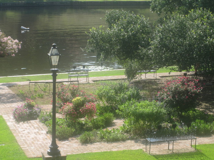 Then finish the day at the Riverwalk on Cane River in Nachitoches, LA.
