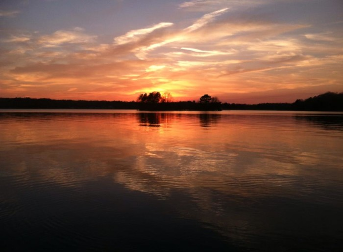 7) Caney Lake