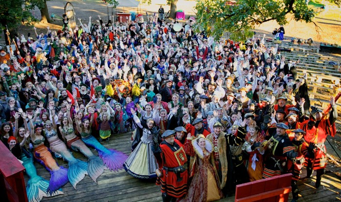7. Renaissance Festival  - The huge festival and amazing entertainment make this a can't miss from August 22 to October 4!