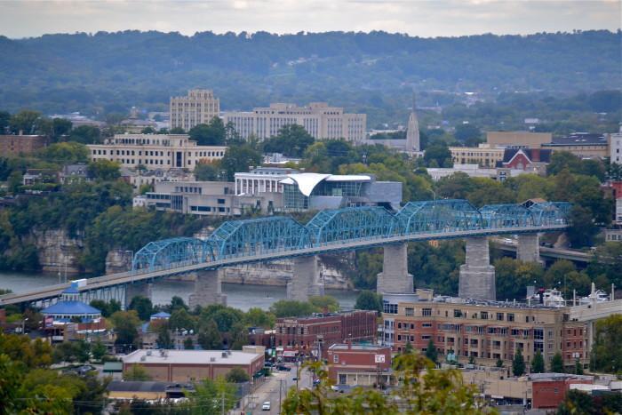 10) Stringers Ridge Park - Chattanooga
