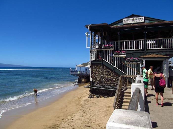 3) Cheeseburger in Paradise, Maui