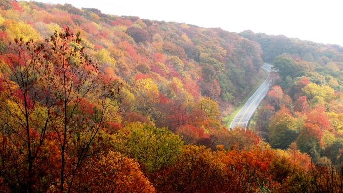 1) Cherohala Skyway - East Tennessee