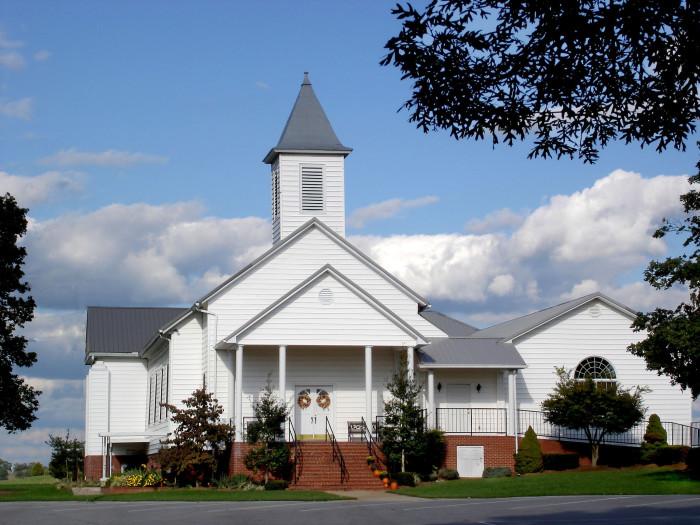 12) The Hospitable Church Lady