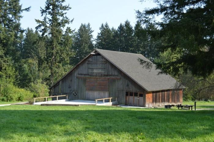 10) City of Wilsonville Parks and Rec Stein Boozier Barn, Wilsonville