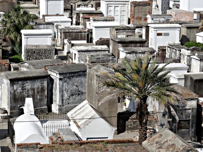 3) St. Louis Cemetery #1, New Orleans, LA