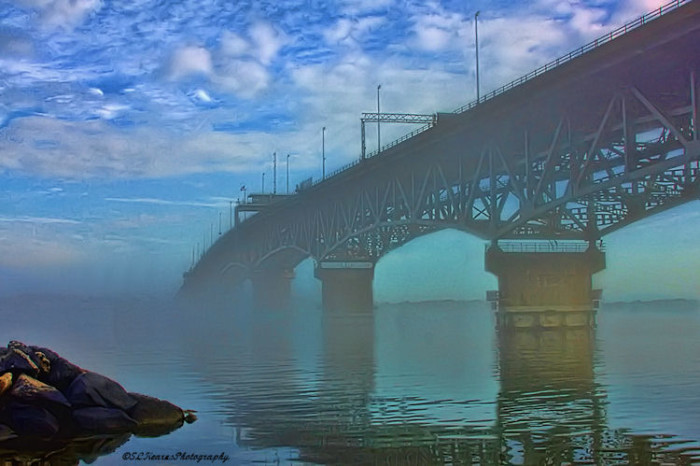 23. Otherworldly Crossings: The Coleman Bridge in Yorktown