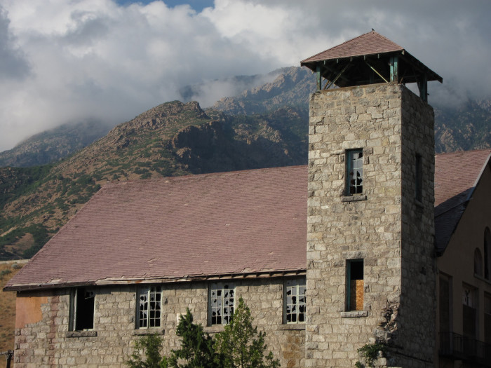 5) Cottonwood Paper Mill, Big Cottonwood Canyon