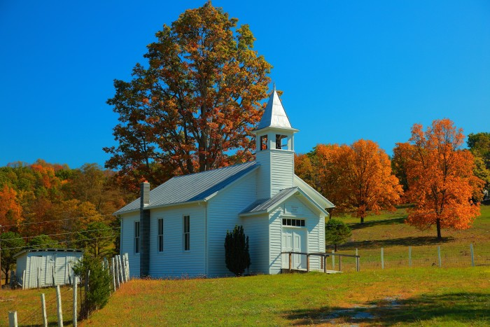 4. This church out in the country