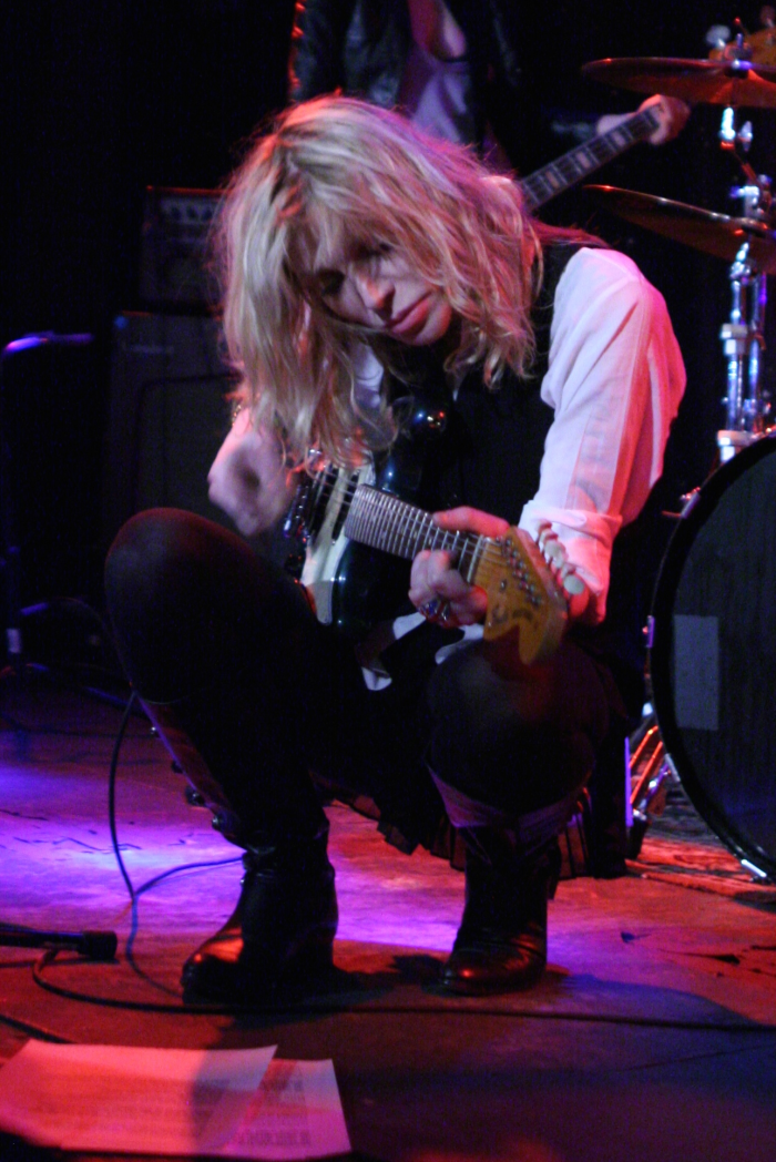 2) Courtney Love, born in San Francisco, raised in Eugene and Portland