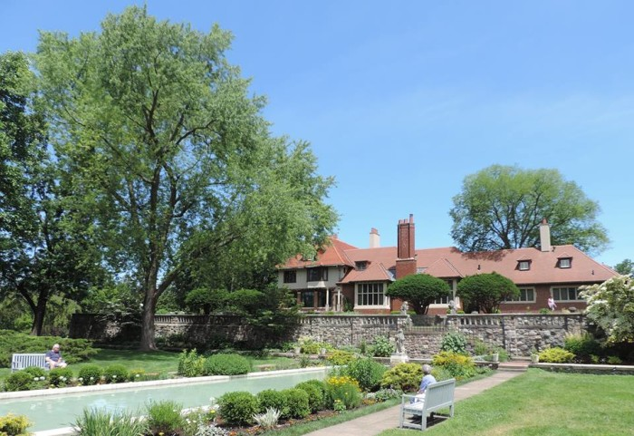 9) Cranbrook House and Gardens, Bloomfield Hills