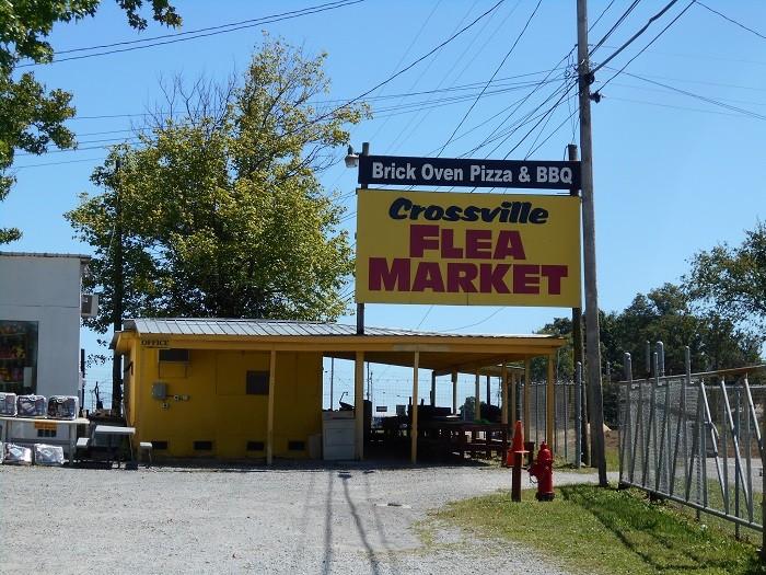 8) Crossville Flea Market - Crossville