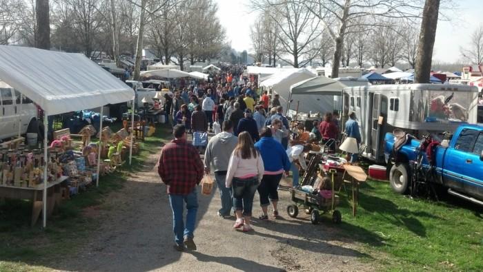 3) Lucasville Trade Days (Scioto County Fairgrounds)