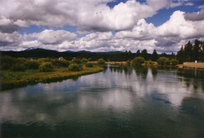 9) Deschutes River