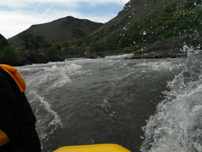 1) Deschutes River
