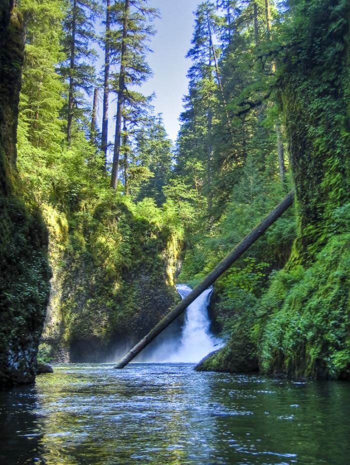 7) Eagle Creek