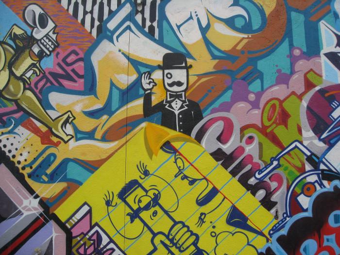 16) Collage at Eastern Market, Detroit