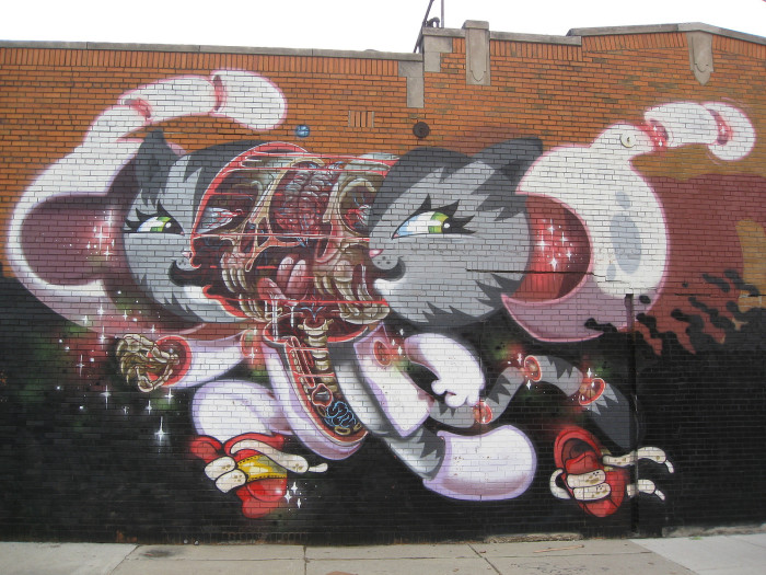 14) Deconstructed kitty, Eastern Market