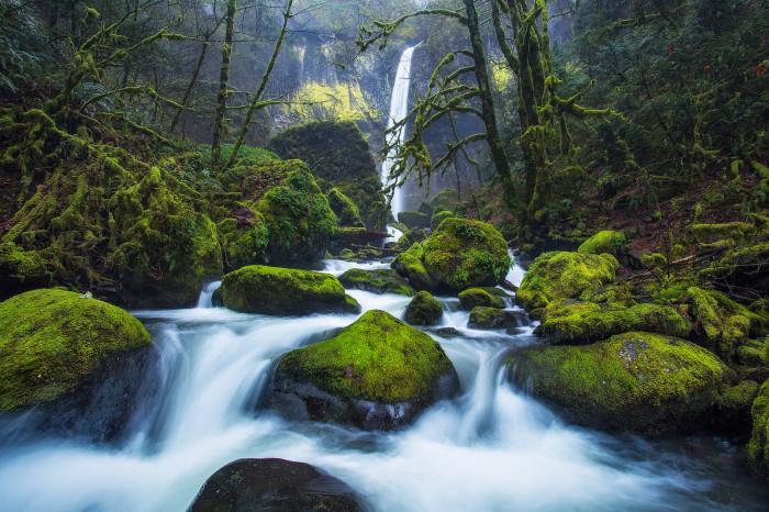 9) Elowah Falls