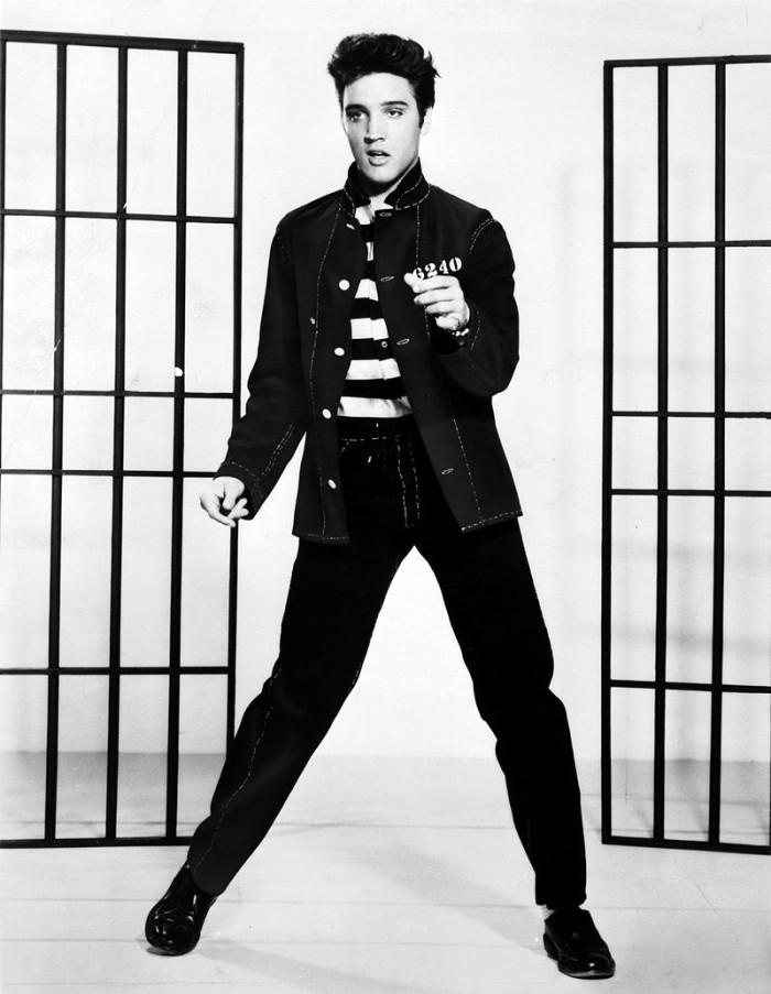 8) Elvis Presley