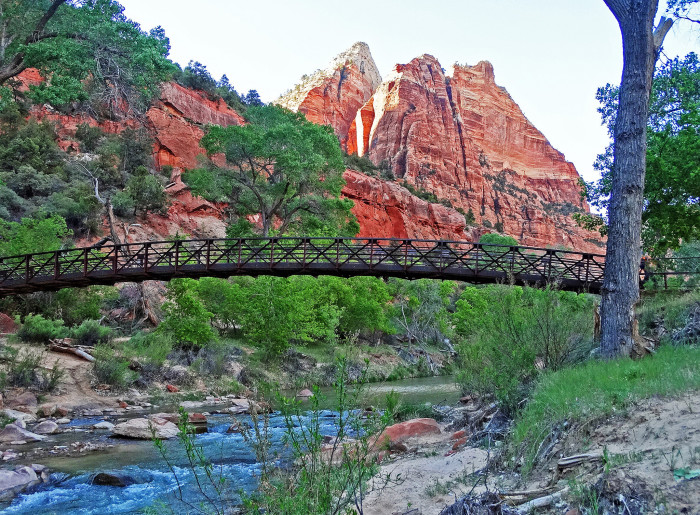 2) Lower Emerald Pools Trail, Zion National Park