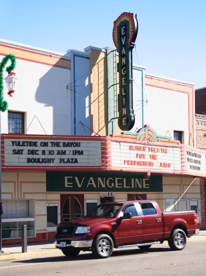 6) Evangeline Theater, New Iberia, LA