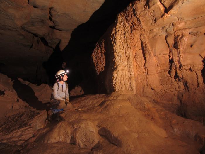 8) Explored a cave